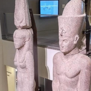 Two Royal Statues Return from US to be Displayed at Grand Egyptian Museum