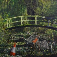 Banksy's Show Me the Monet Leads Sotheby's Contemporary