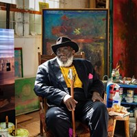 Artist Frank Bowling Awarded Knighthood in Queen's Birthday Honours