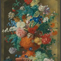 The National Gallery Takes Van Huysum's 'Flowers in a Terracotta Vase' to Six Locations in the UK
