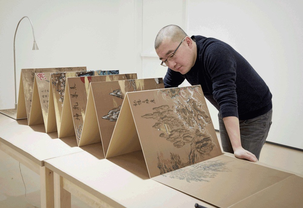 Sun Xun has been selected as the second artist to present the Audemars Piguet Art Commission