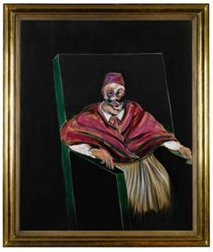 Francis Bacon's legendary Study For a Pope I