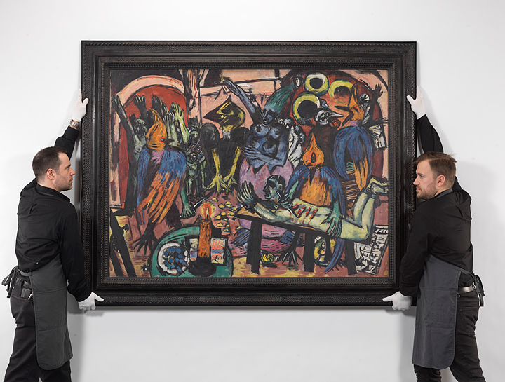 Max Beckmann's Birds' Hell Achieved New World Artist Record