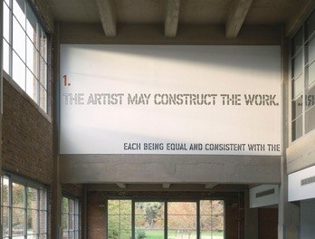 Dia Art Foundation to Permanently Install Lawrence Weiner's work