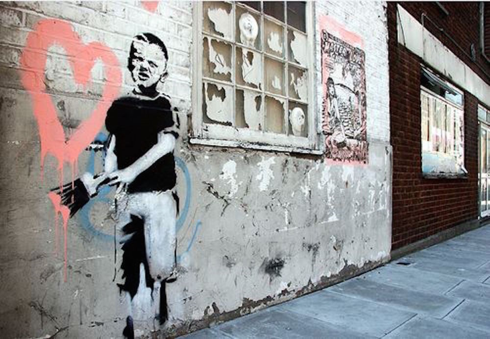 Moco Museum brings Banksy to the streets of Amsterdam