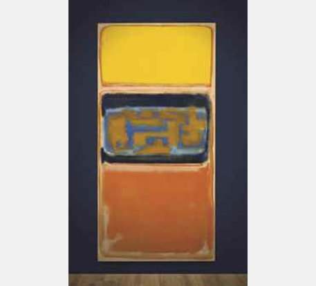 Mark Rothko's No. 1 (Painted in 1949) at Christie's on March 7