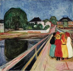 Edvard Munch's Seminal  GIRLS ON THE BRIDGE  To Lead Sotheby's November Sales of  Impressionist & Modern Art
