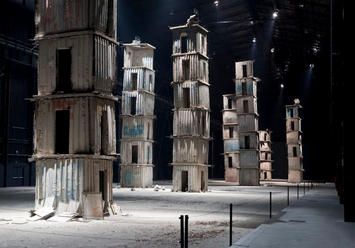 Five never before exhibited paintings of Anselm Kiefer enrich and expand The Seven Heavenly Palaces installation