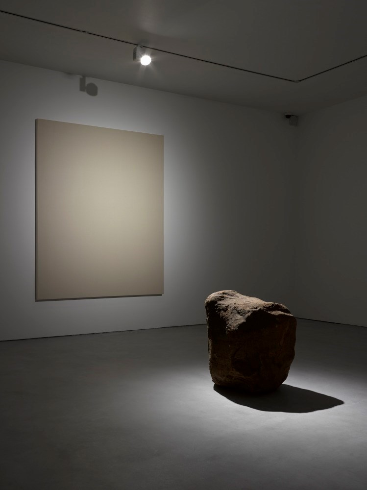 Anish Kapoor and Lee Ufan in Lisson Gallery, London