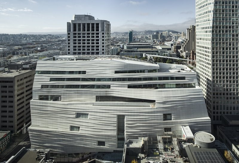 An Expanded and Transformed San Francisco Museum of Modern Art to Open in May 2016
