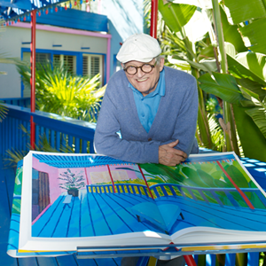 A Bigger Book is a spectacular overview of more than 60 years of Hockney's work