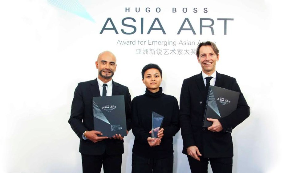 The HUGO BOSS ASIA ART Award 2015