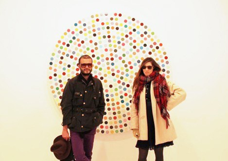 12 Days, 7 Countries, 1 Damien Hirst print: an interview with two spot-chasers