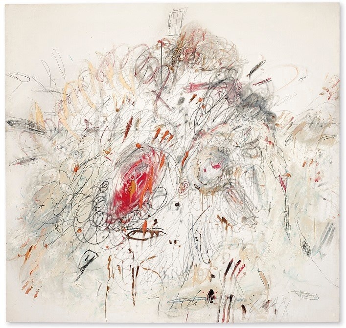 Christie's to announce Cy Twombly's great clandestine masterpiece