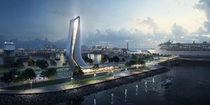 Zaha Hadid Architects wins the Masterplan 2030 competition for the Old City Harbour in Tallinn's Port