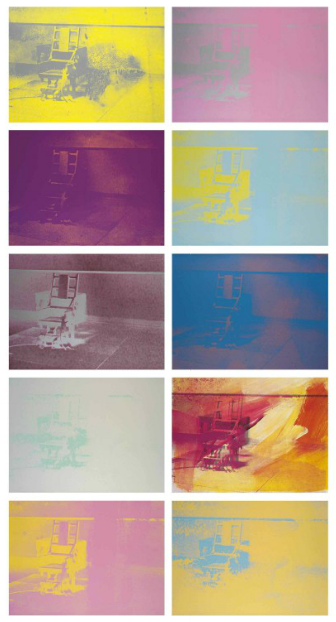 Andy Warhol Electric Chairs at Christie's