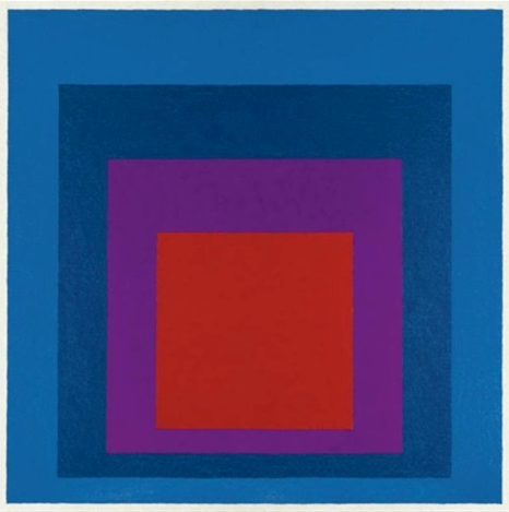 Josef Albers, Homage to the Square: Temperate, 1957