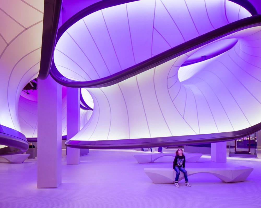 Science Museum opens a new mathematics gallery, designed by Zaha Hadid Architects