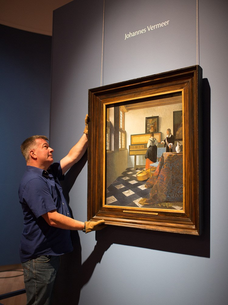 """The Music Lesson"" by Johannes Vermeer Returns to the Netherlands for First Time in Twenty Years"