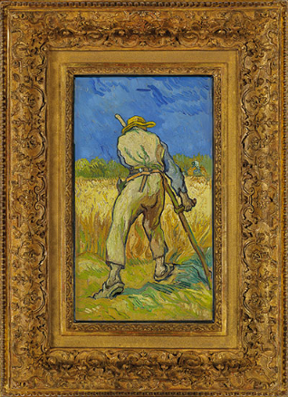 'A light of pure gold' — Vincent van Gogh's Le moissonneur (d'après Millet)