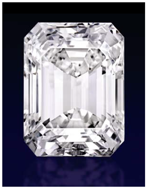 The ultimate emerald-cut diamond is offered on Sotheby's