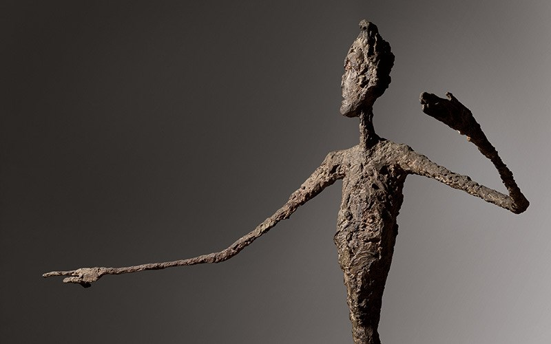 POINTING MAN by Alberto Giacometti on the market