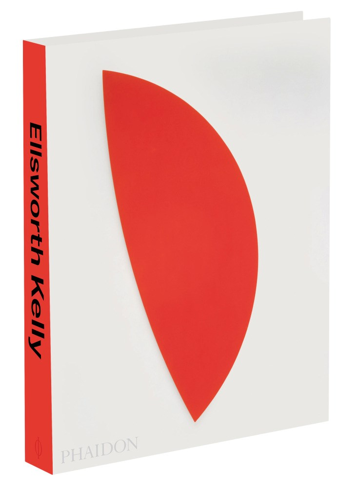 Ellsworth Kelly by Tricia Paik. Published by Phaidon