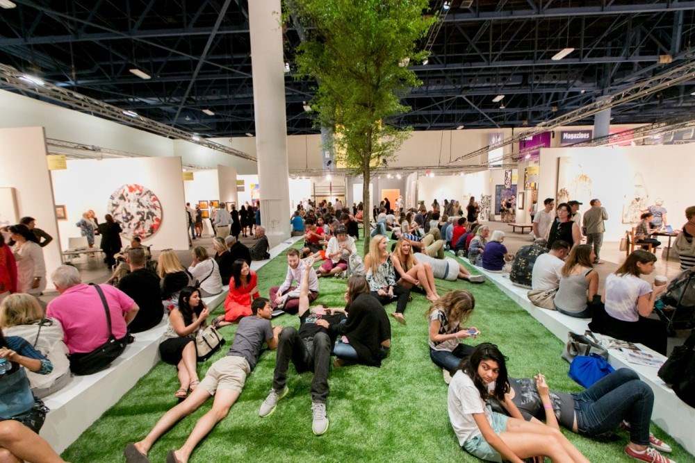 Premier line-up of international galleries announced for Art Basel's 14th edition in Miami Beach