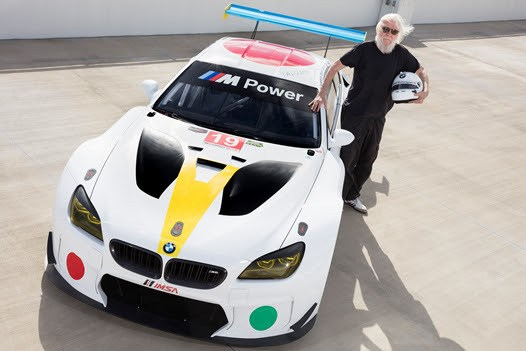 Baldessari designs 19th vehicle for BMW Art Car Collection