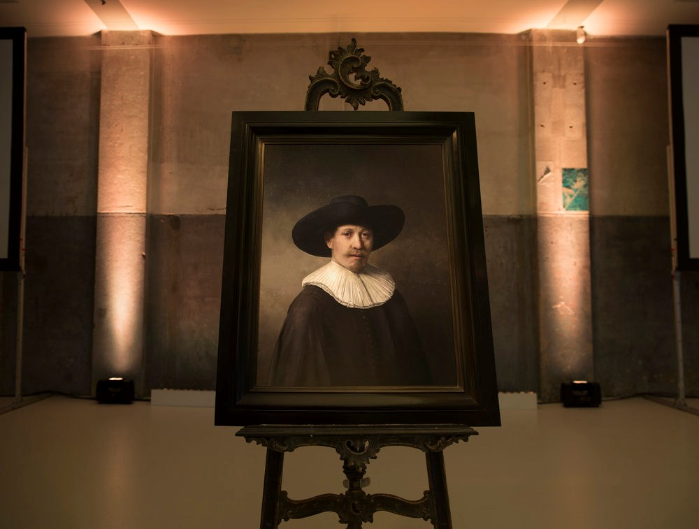 The Next Rembrandt is unveiled