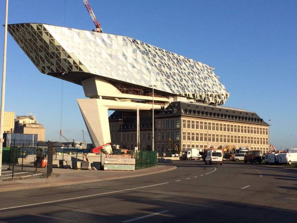 Port House in Antwerp designed by Zaha Hadid Architects  to be completed this year