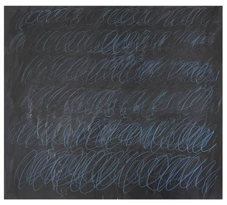 Sotheby's To Offer Unique Cy Twombly 'Blackboard' Painting