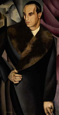 Lempicka portrait  from the collection of fashion legends