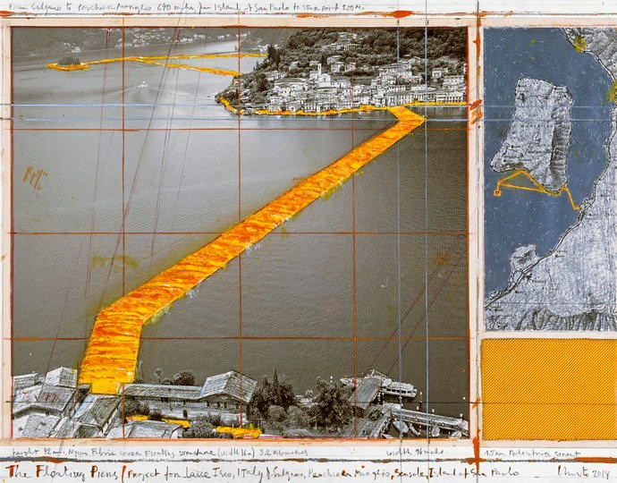 The Floating Piers, Project for Lake Iseo, Italy