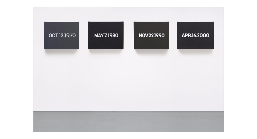ON KAWARA Four Decades