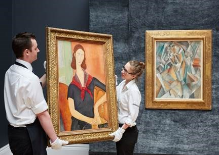 Sotheby's Two Highest Prices Achieved in London in Over Five Years