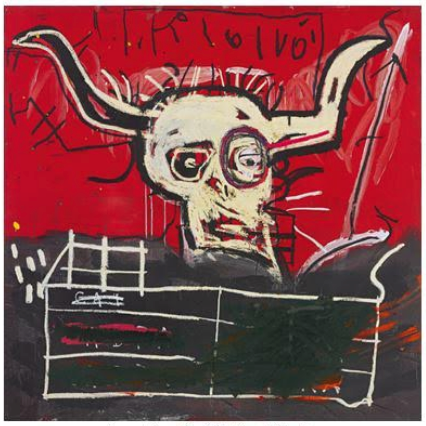 Jean-Michel Basquiat's Cabra will make its auction debut in New York on 16 November.