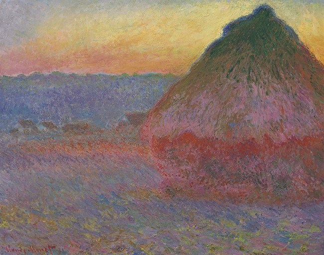 Christie's achieves $81.4 million for Monet's Muele (Grainstack)