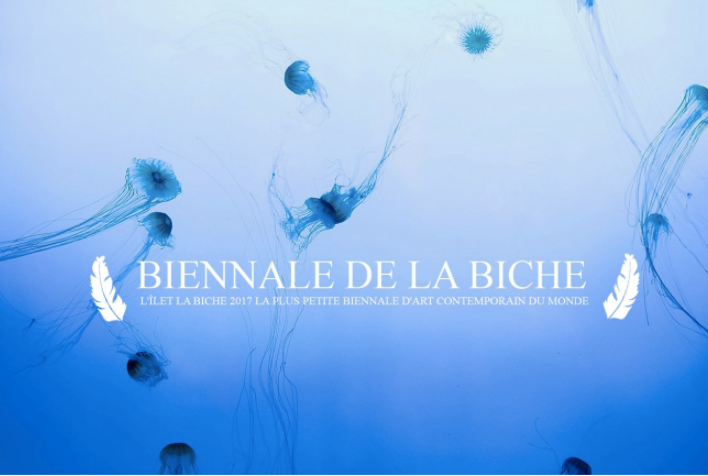 BIENNALE DE LA BICHE - the smallest art biennale in the world