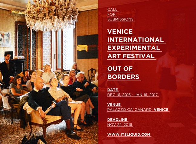 Venice international experimental art festival | out of borders - last days to submit
