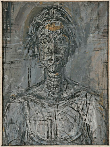 """Giacometti's portraits are about the interrogation of appearance"" - Paul Moorhouse, National Portrait Gallery"