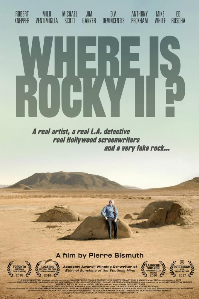 """The thing is real. Ed Ruscha did create a mysterious art piece…"" - Gregoire Gensollen on 'Where is Rocky II?'"