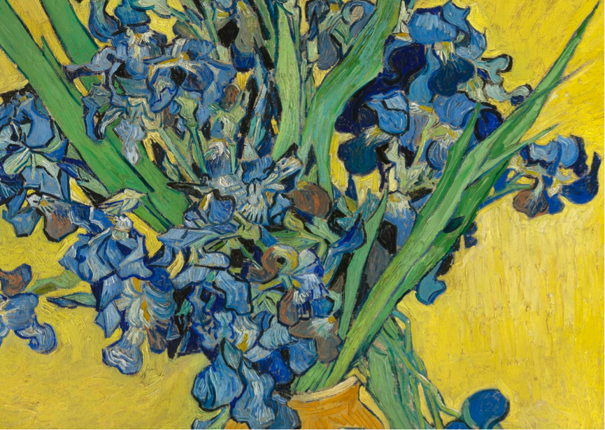 Symbolism in Art: Irises – Van Gogh (1889)