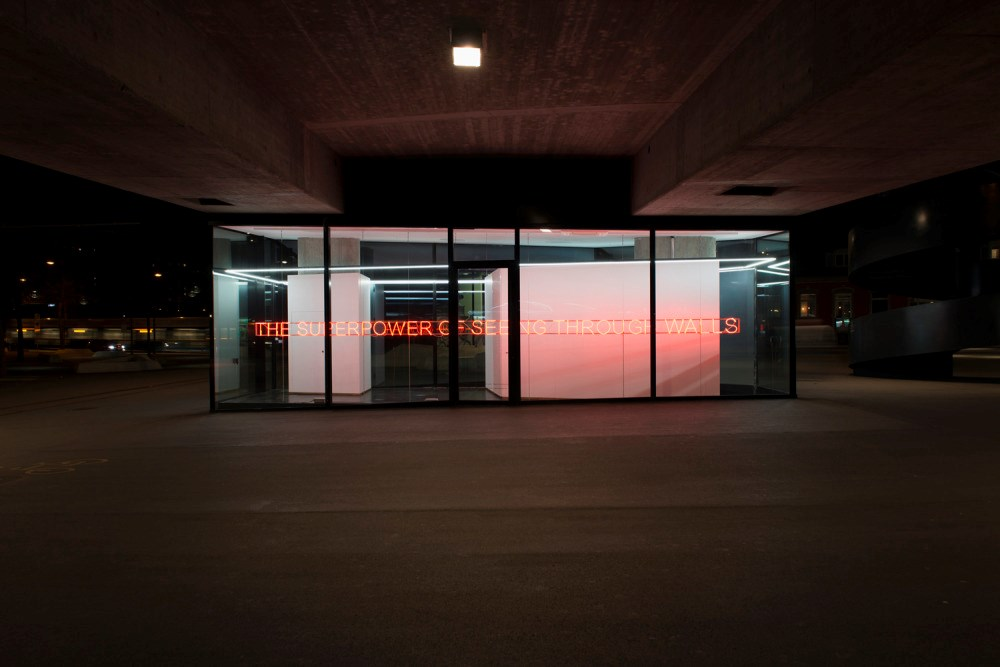 """I work a lot with text in many different forms"" - An Interview with Tim Etchells"