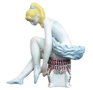 Is Jeff Koons 'Seated Ballerina' A Copy of This Ukrainian Sculpture?