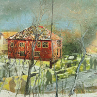 PETER DOIG's Red House estimated for $18-22 mln