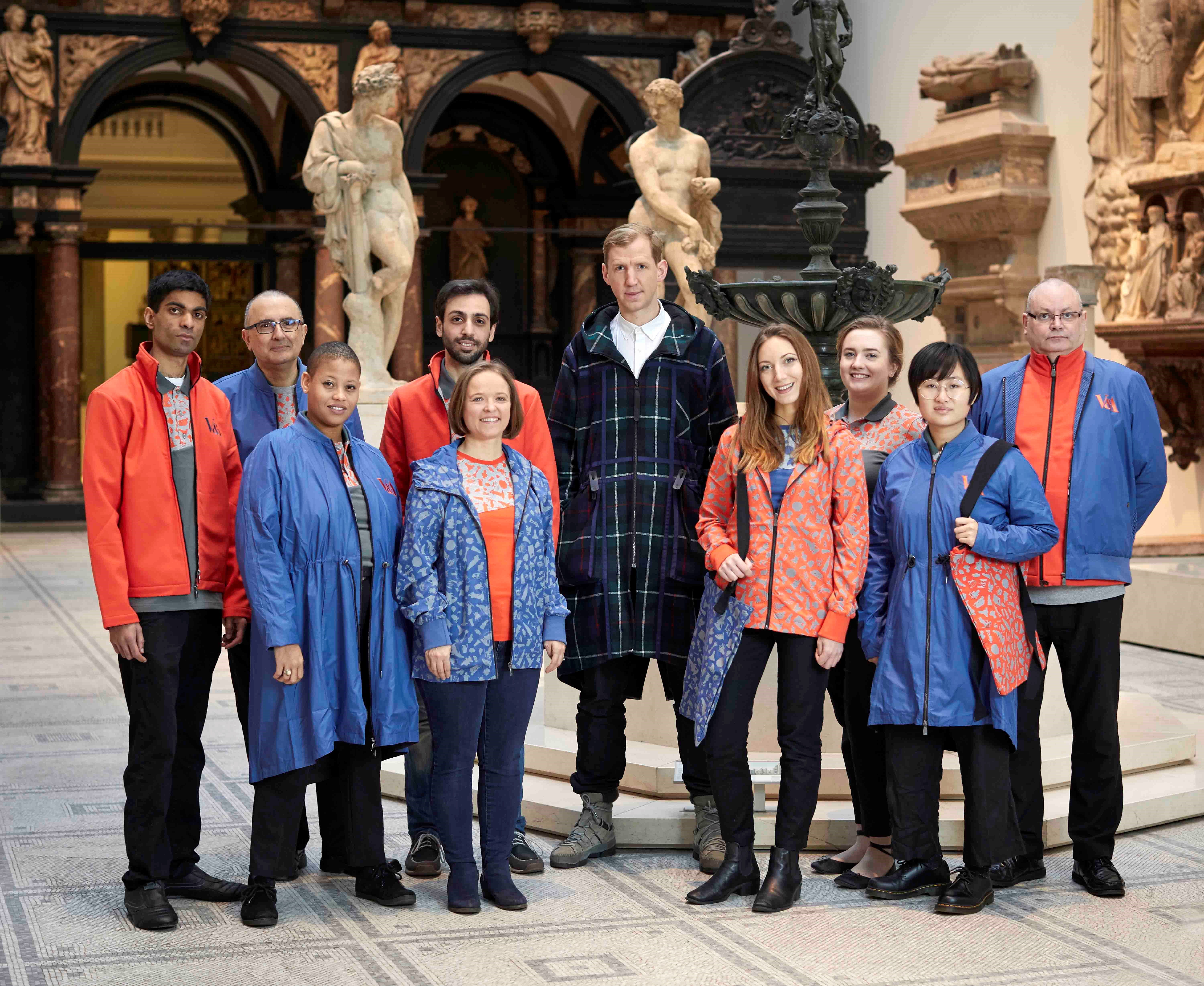 V&A unveils new staff uniforms