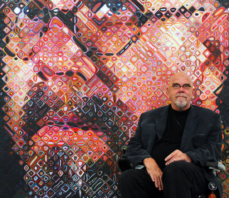 Chuck Close, Where Are Your Friends?