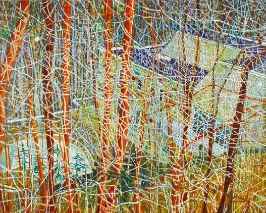 """The Architect's Home in the Ravine"" by Peter Doig"