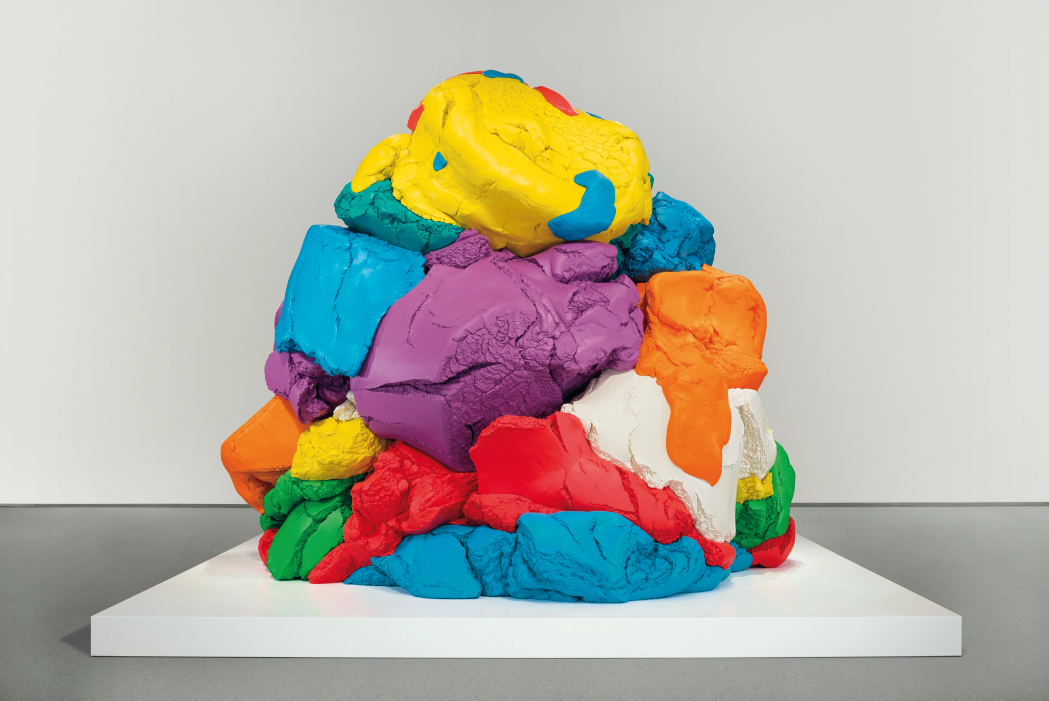 Jeff Koons Monumental Play Doh Sculpture